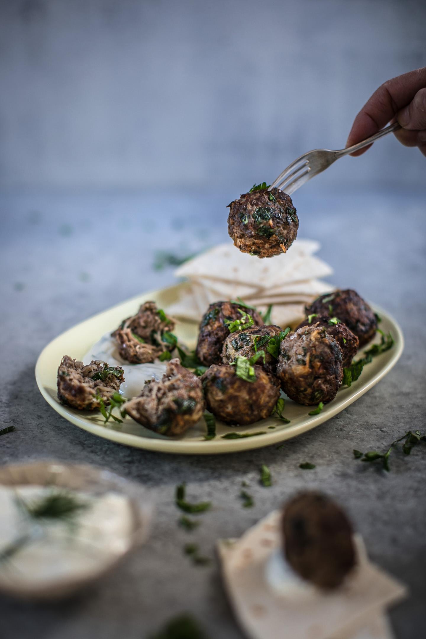 Greek Meatballs Keftedes Gluten Free Recipe