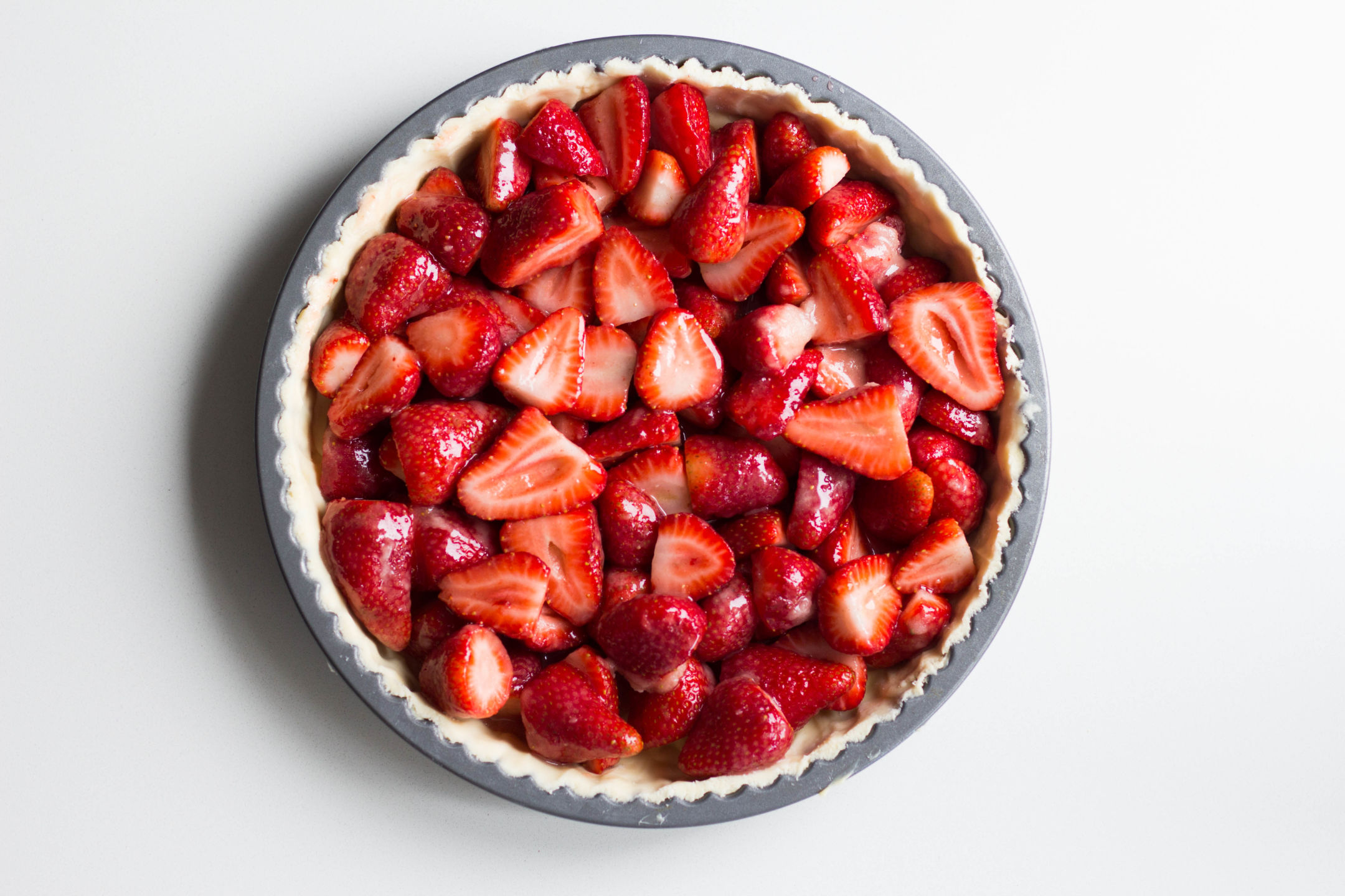 Luscious Strawberry Pie Gluten Free Recipe