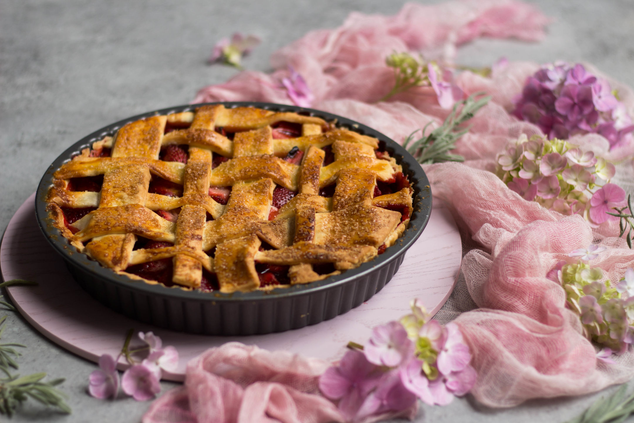 Luscious Strawberry Pie Gluten Free 7