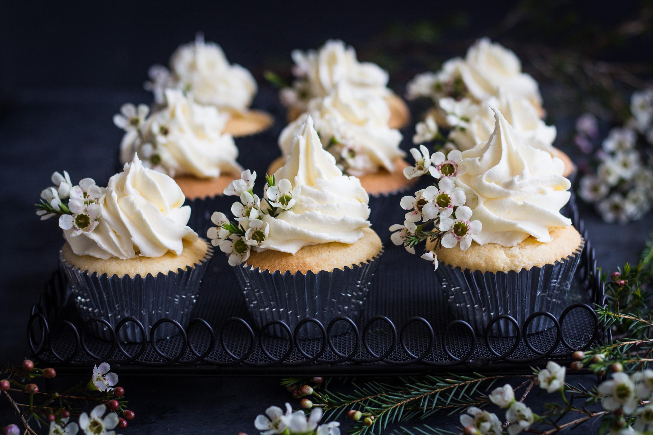 Vanilla Cupcakes with Buttercream Gluten Free Recipe 2