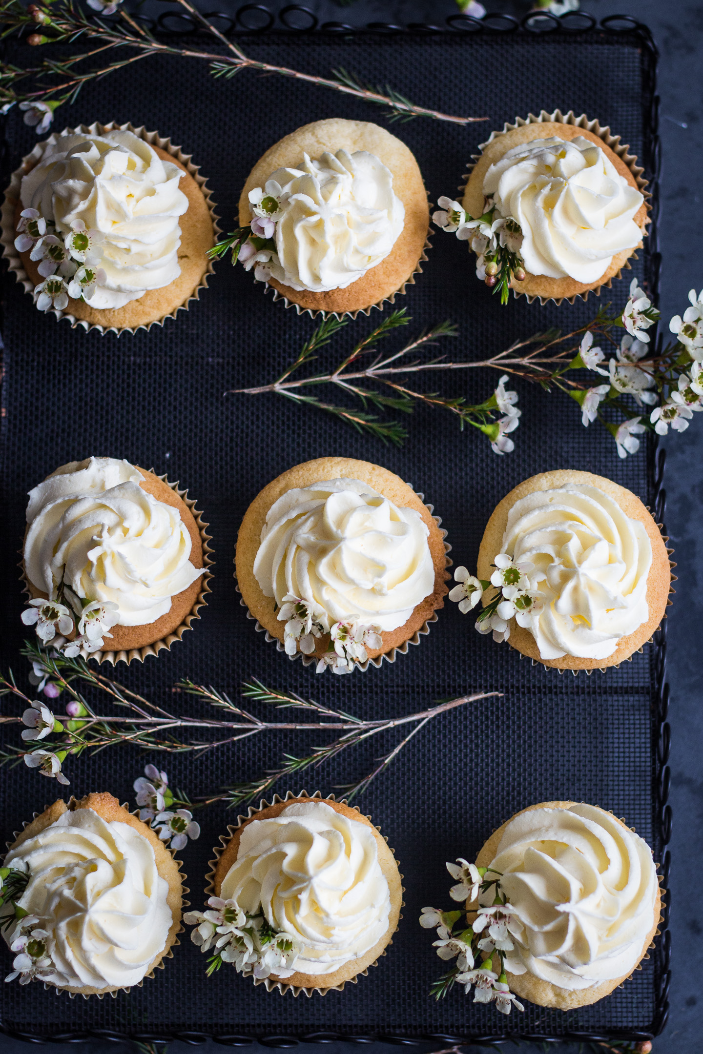 Vanilla Cupcakes with Buttercream Gluten Free Recipe 3