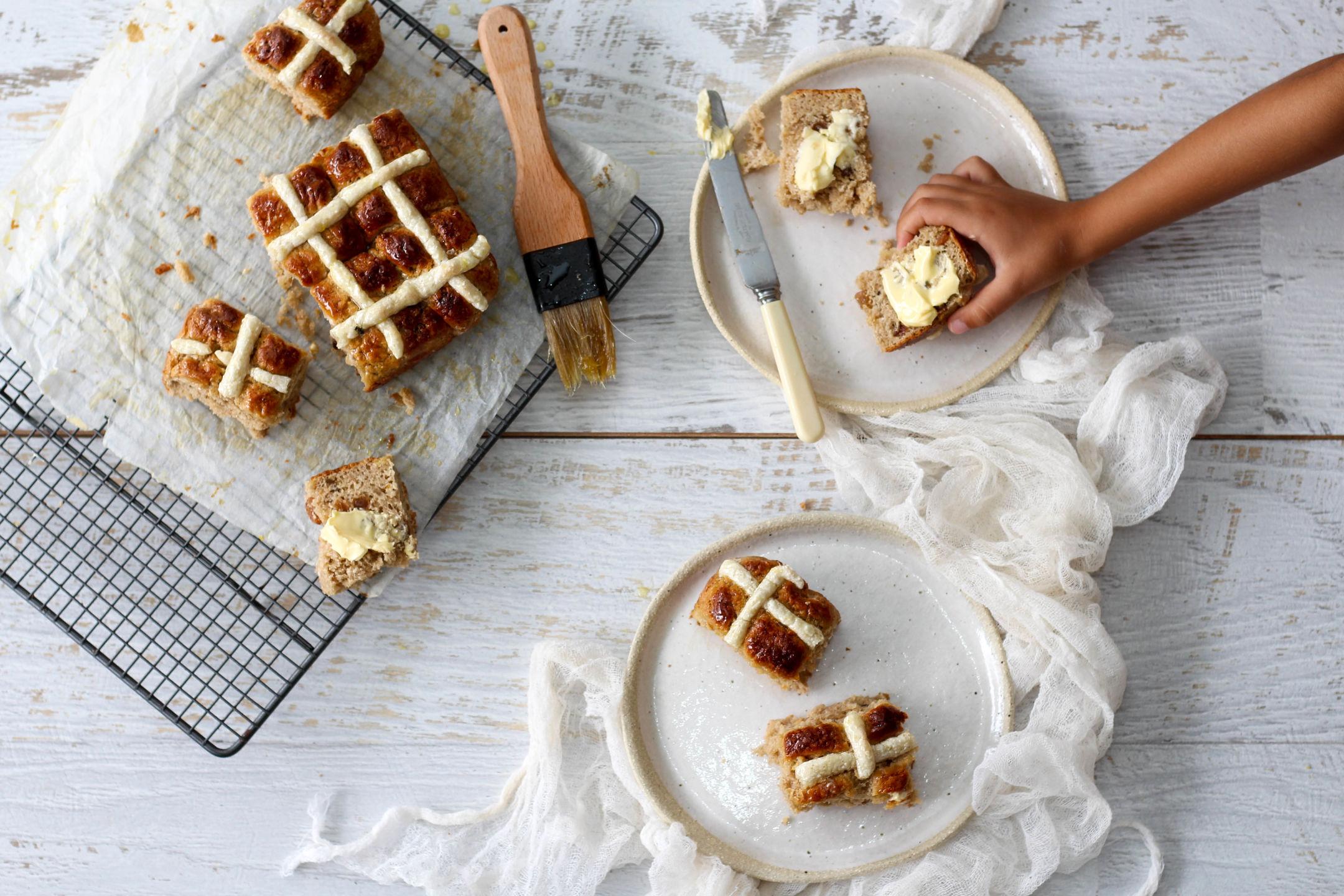 Hot Cross Buns Gluten Free Recipe