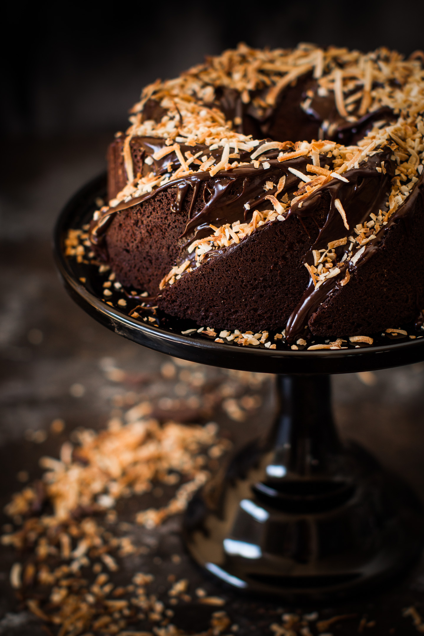 Chocolate Coconut Cake Gluten Free