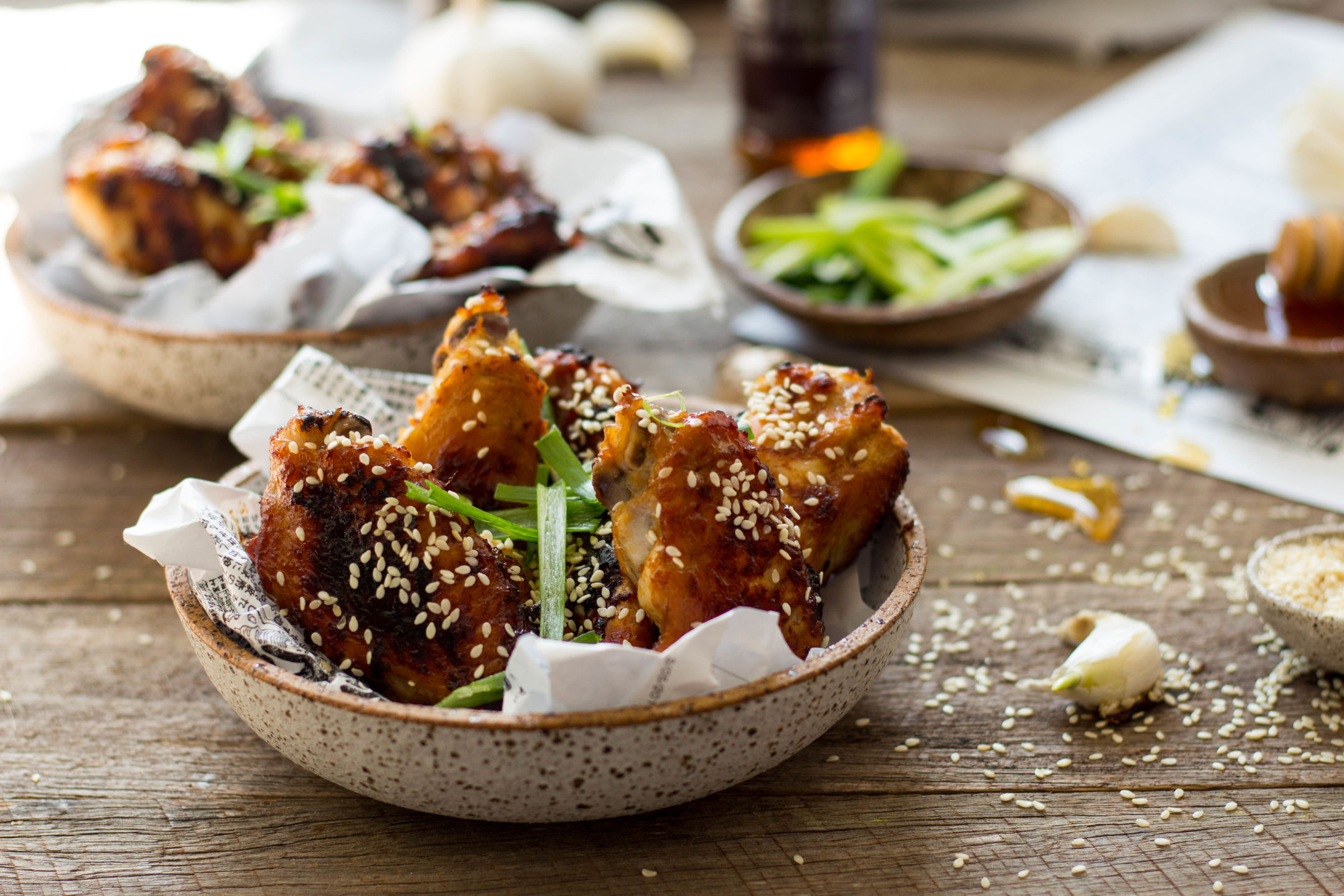 Baked Miso Chicken Wings Gluten Free 1-4666