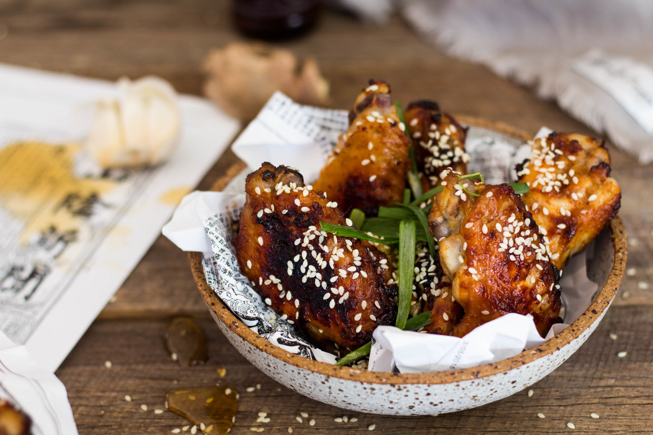 Baked Miso Chicken Wings Gluten Free 2-4690