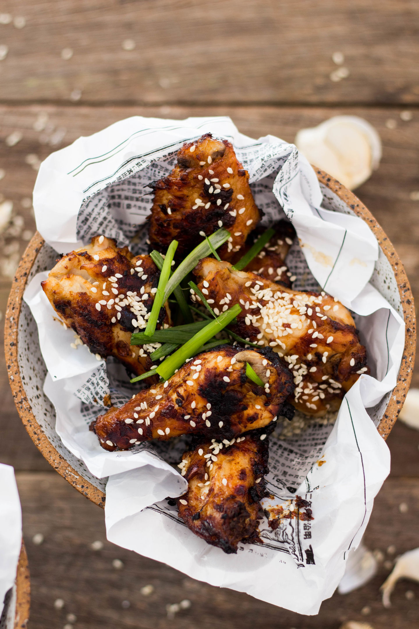 Baked Miso Chicken Wings Gluten Free 5-4723