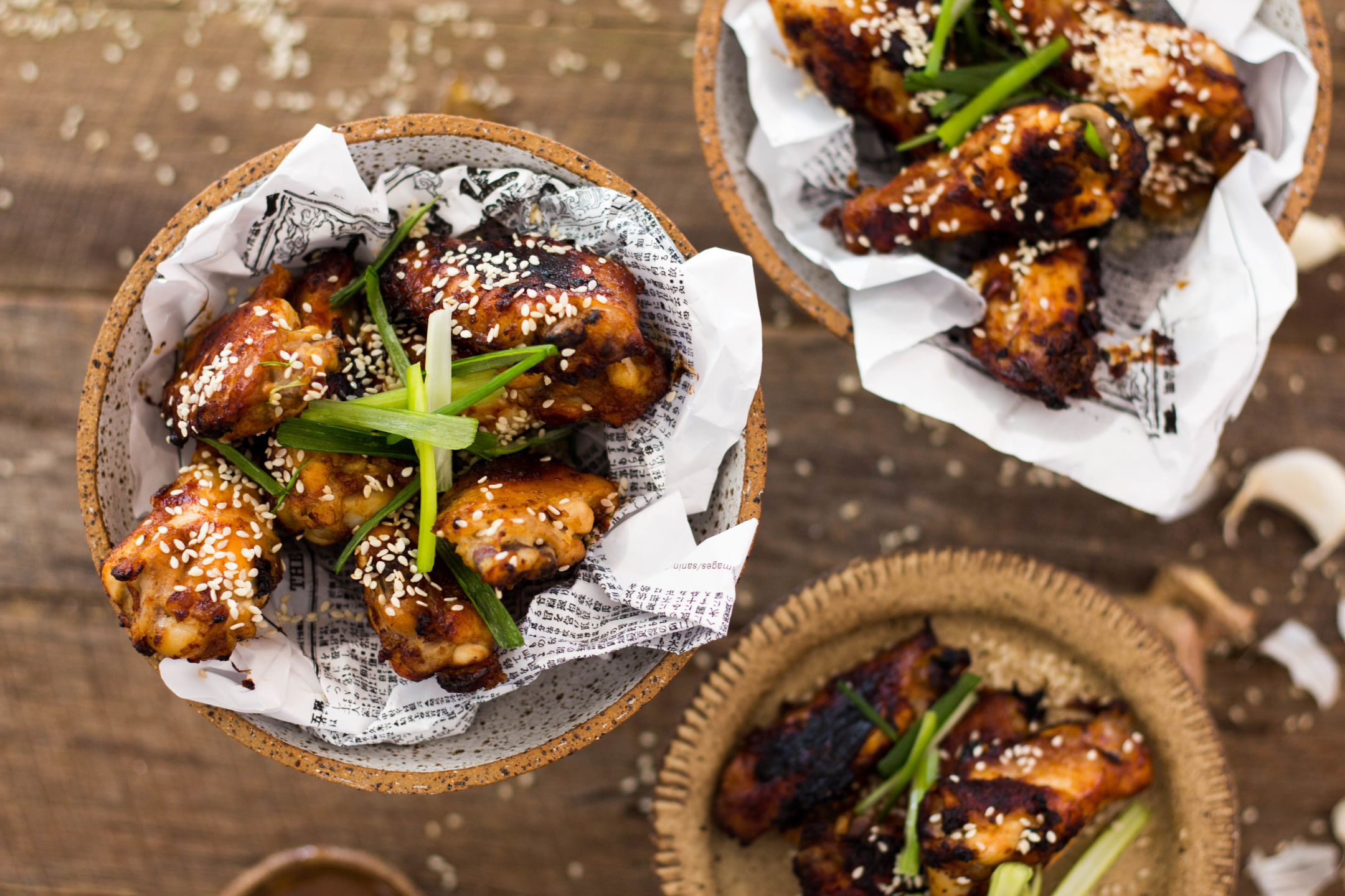 Baked Miso Chicken Wings Gluten Free 6-4729