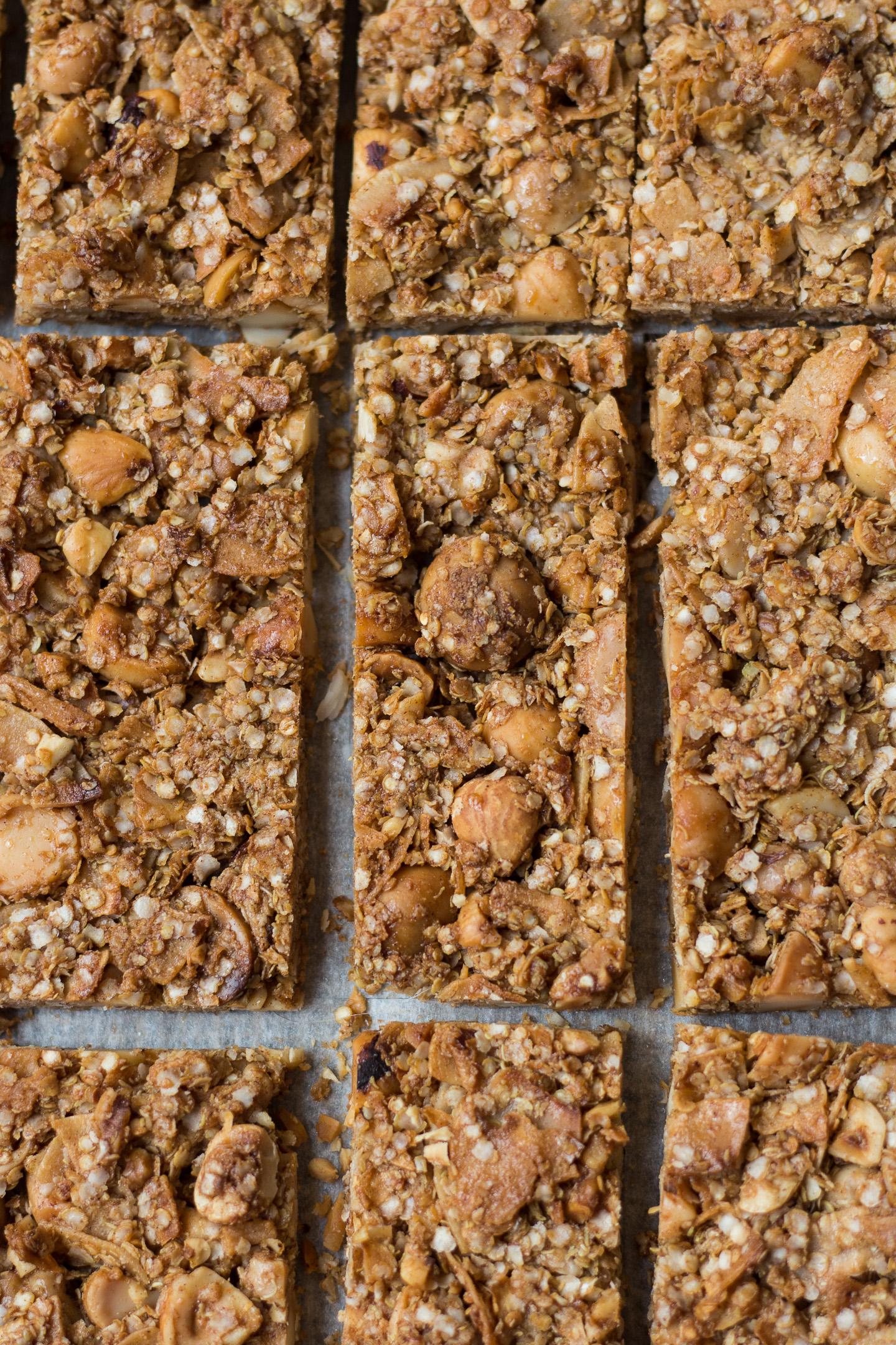 Granola Crunch Bars Gluten Free 2