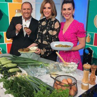 Greek Kolokithokeftedes (Zucchini Feta Herb Fritters)