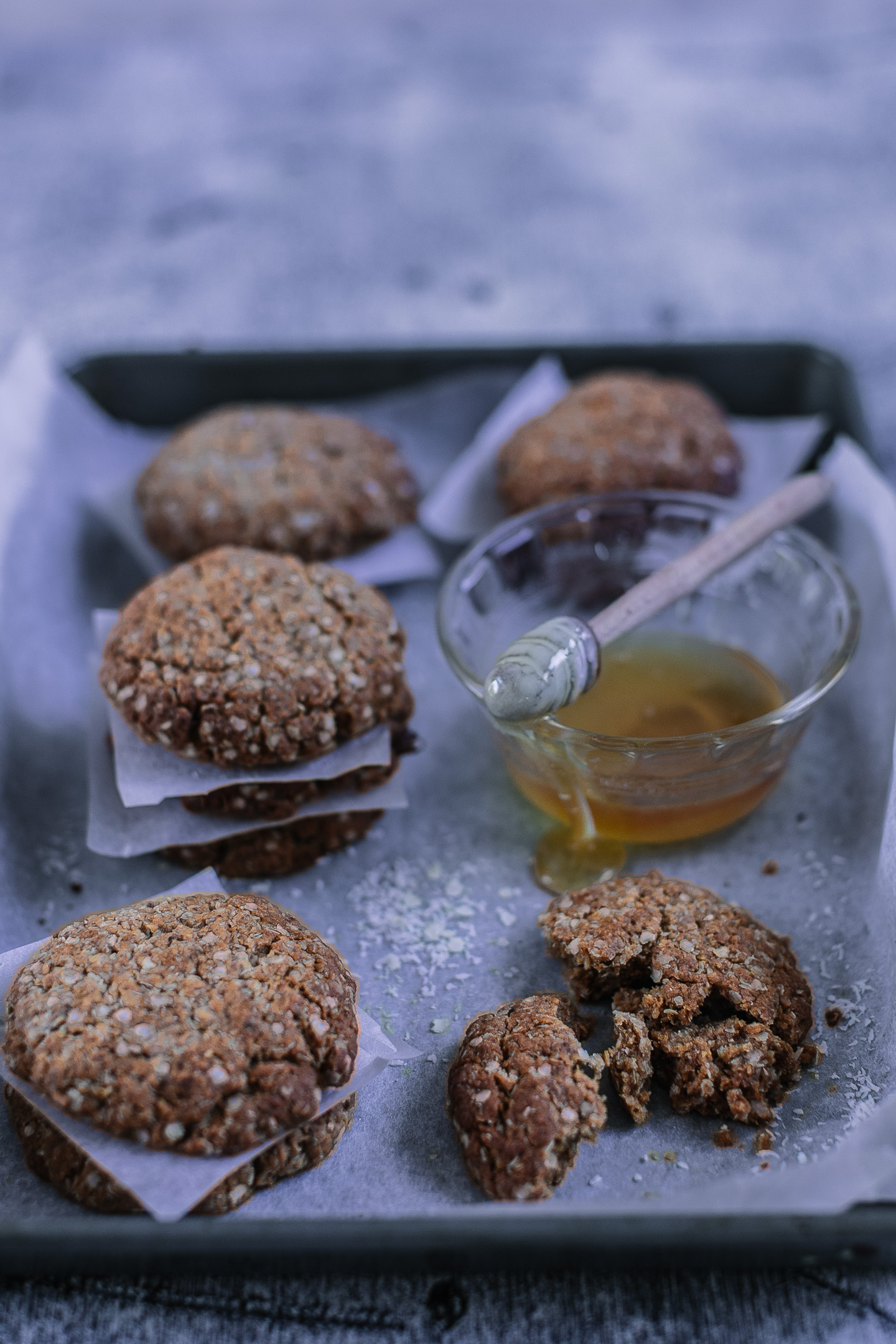 Gluten, Dairy & Refined Sugar Free Anzac Biscuits Recipe
