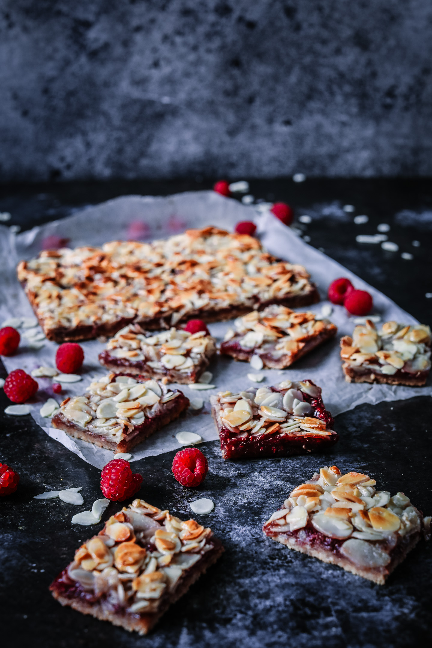 Gluten Free Raspberry Almond Slice Recipe